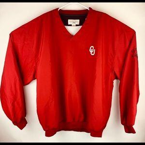 University of Oklahoma Cutter & Buck Pull Over